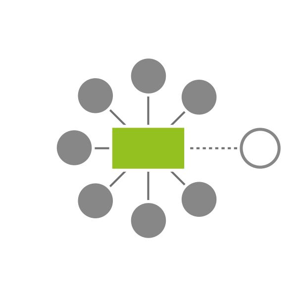 Icon zu Flexibel und Erweiterbar