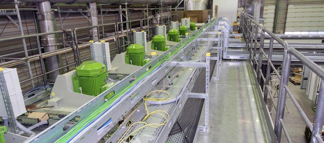 Industriemontage Verkabelung