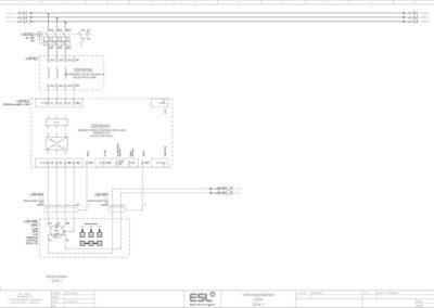 E-Plan Zeichnung