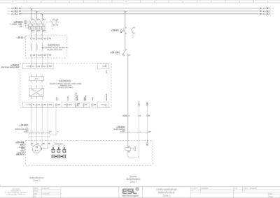 E-Plan Zeichnung ESL