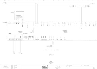 Zeichnung eines E-Plans